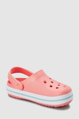 Блідо-рожеві сабо crocs™ crocband оригінал розм. 21,5 по 35,5 під замовлення фото №1