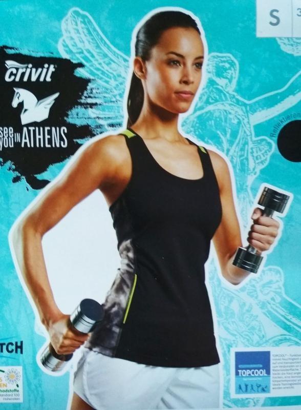 Распродажа спортивная майка crivit женская для спорта фитнеса фото №1