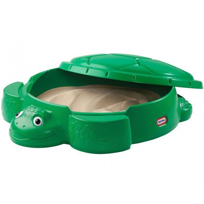 Little tikes песочница черепаха с крышкой 631566 sandbox turtle фото №1