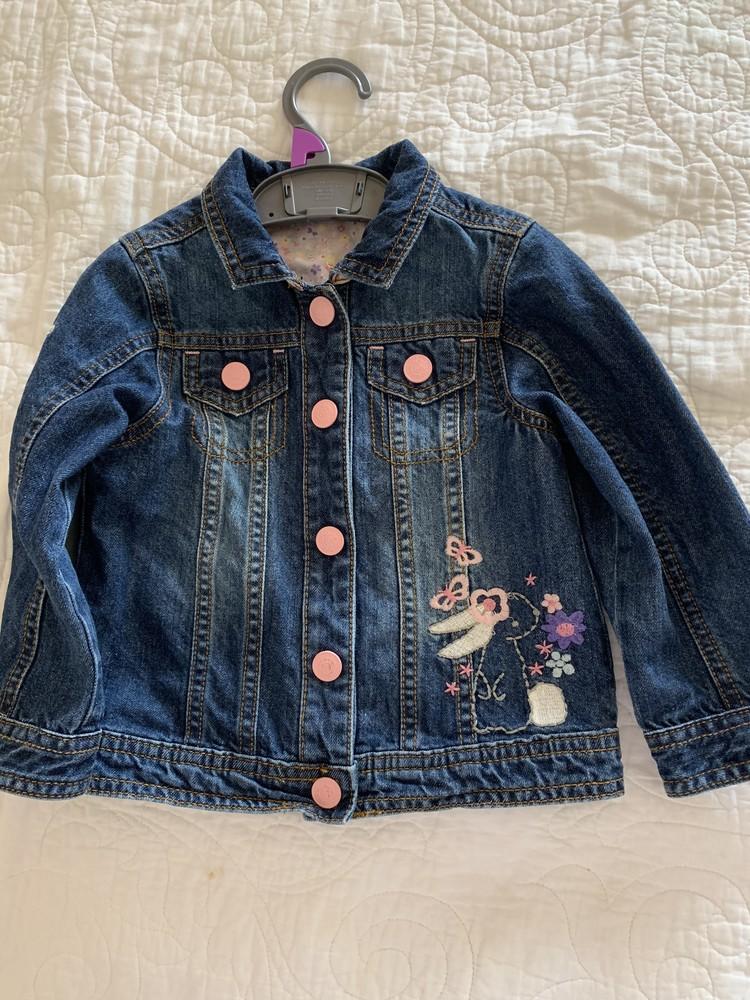 Курточка джинсовая мазакеа фото №1