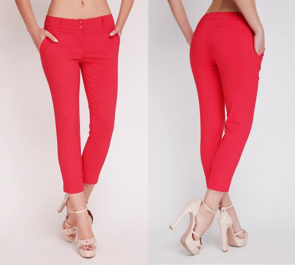 4a3395ca728d Летние брюки стрейчевые красные. Есть батал.