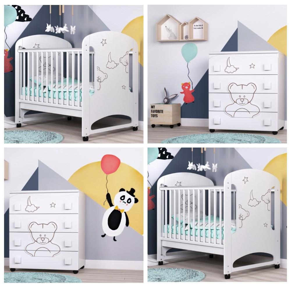 Кроватка от рождения  фото №1