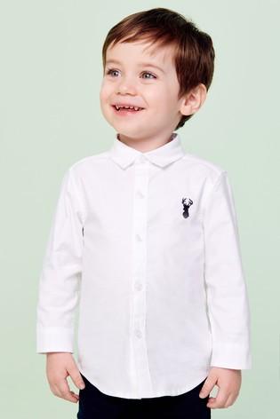 Оксфордська рубашка next (різні кольори) для хлопців 0-7 р. під замовлення фото №1