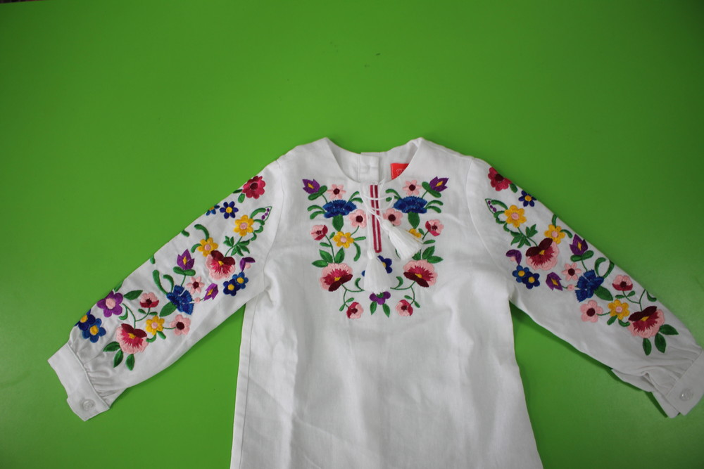 Яскрава вишиванка для дівчинки 92-170 фото №1