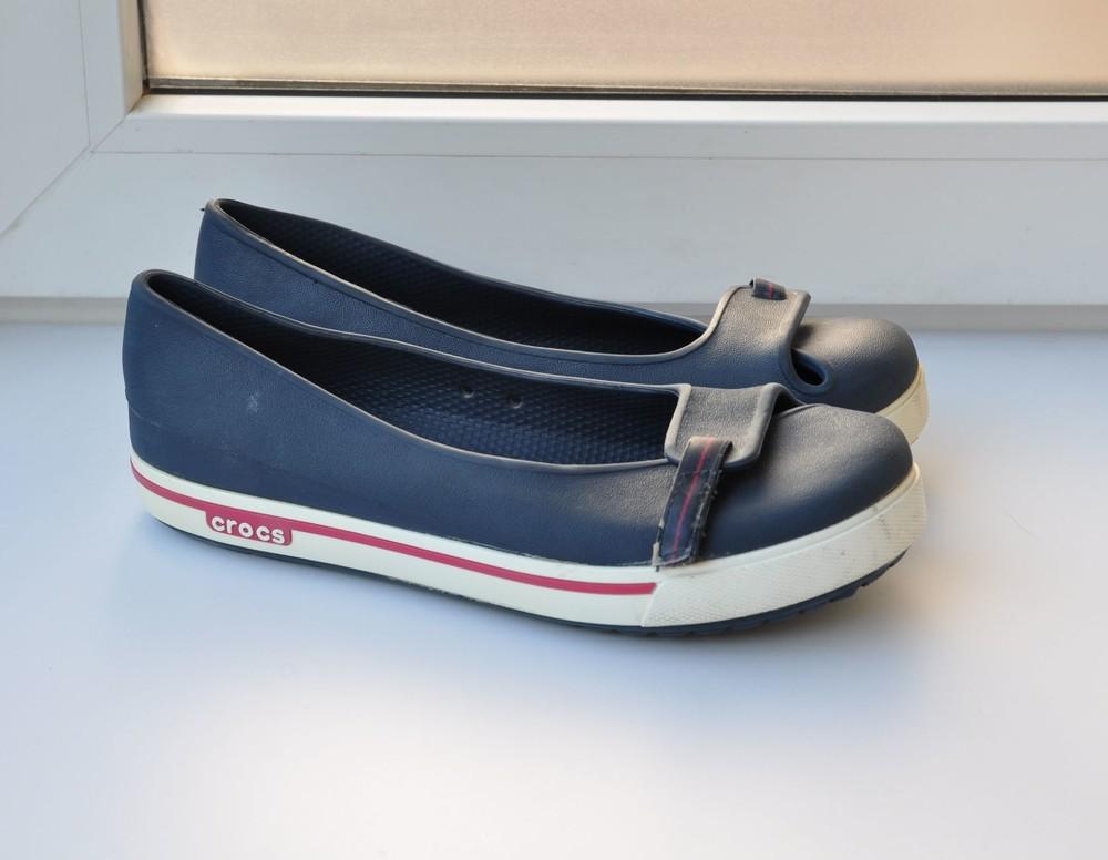 Балетки crocs 37р 24см фото №1