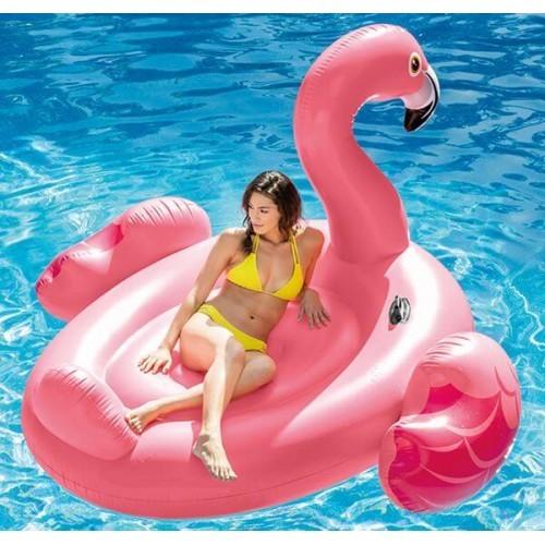 Надувной плот фламинго intex 56288 фото №1