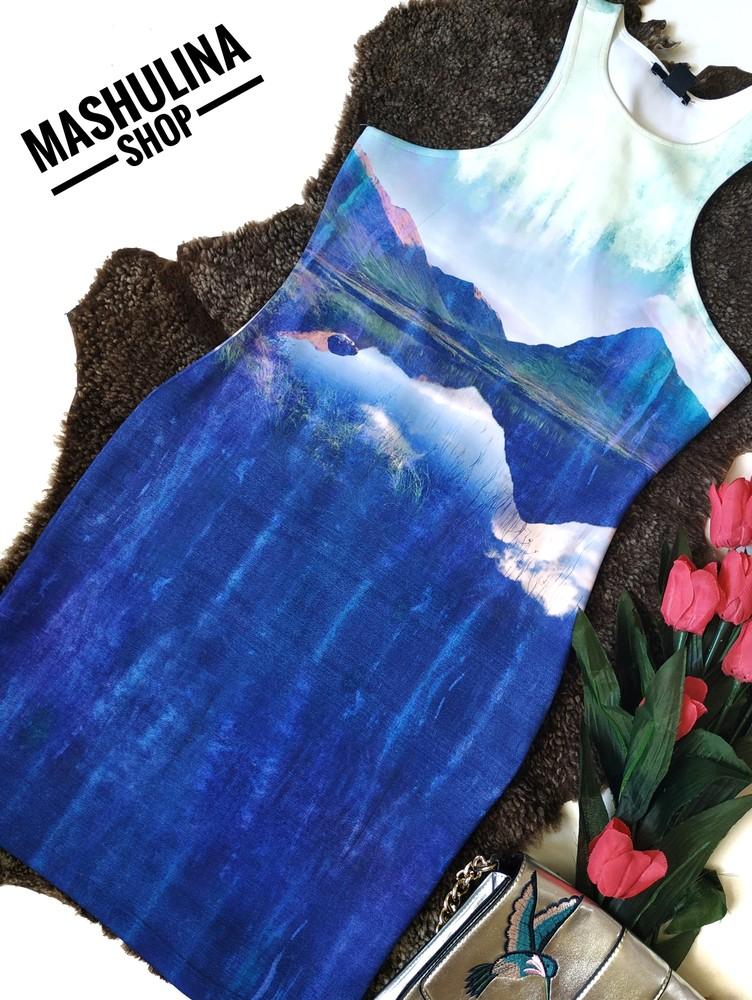 Шикарное платье с вырезом на спинке от h&m фото №1