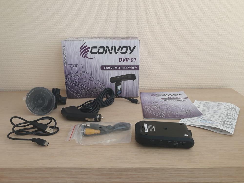 Новый видеорегистратор convoy dvr-01 фото №1