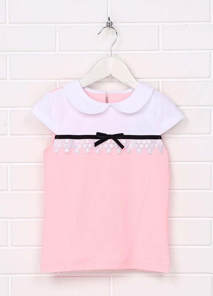 Блузка для девочки короткий рукав фото №1