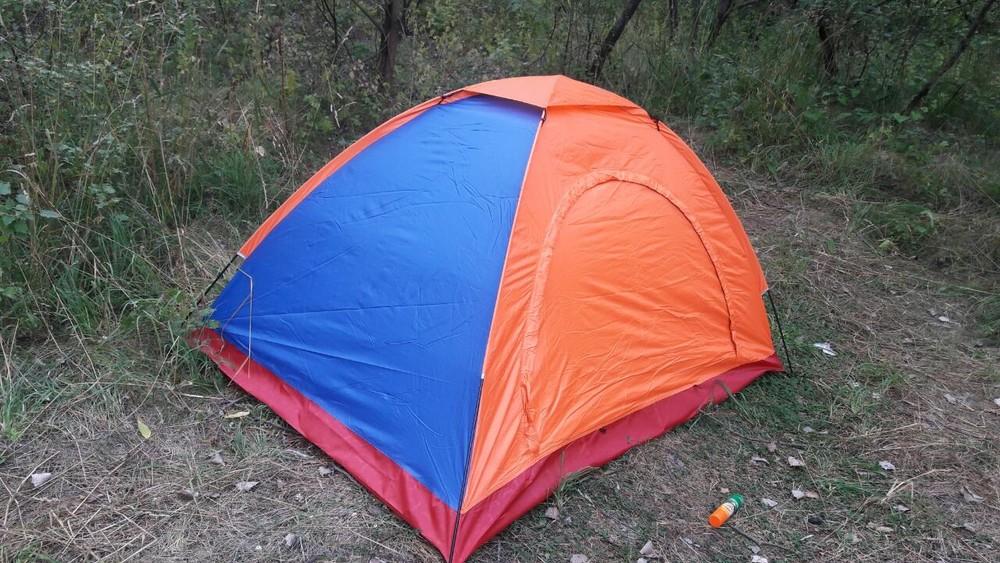 Продам новую двухместную палатку фото №1