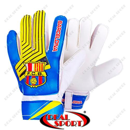 Детские футбольные вратарские перчатки фото №1