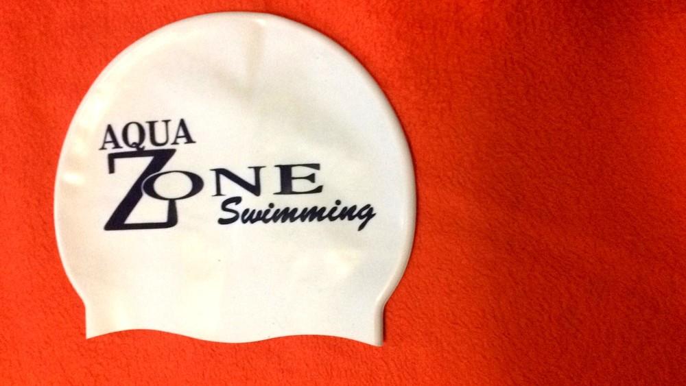 Шапочка для плавания aqua zone (италия) фото №1