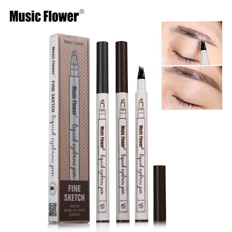 Жидкий карандаш с эффектом тату для бровей music flower фото №1