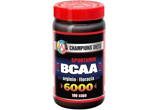 Аминокислоты всаа 6000 180 caps sportsmin® . фото №1