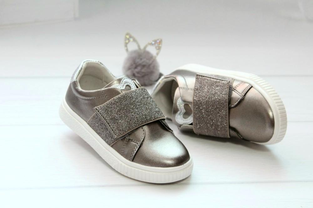 Красивенные осенние туфли для девочек фото №1