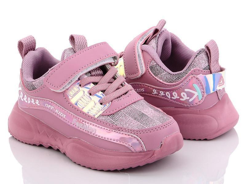 Кроссовки для девочки (розовый) тм світ.т размеры 26-31 фото №1