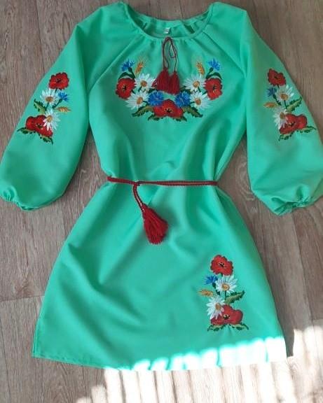 Вишиванка, сукня з вишивкою, вышиванка фото №1