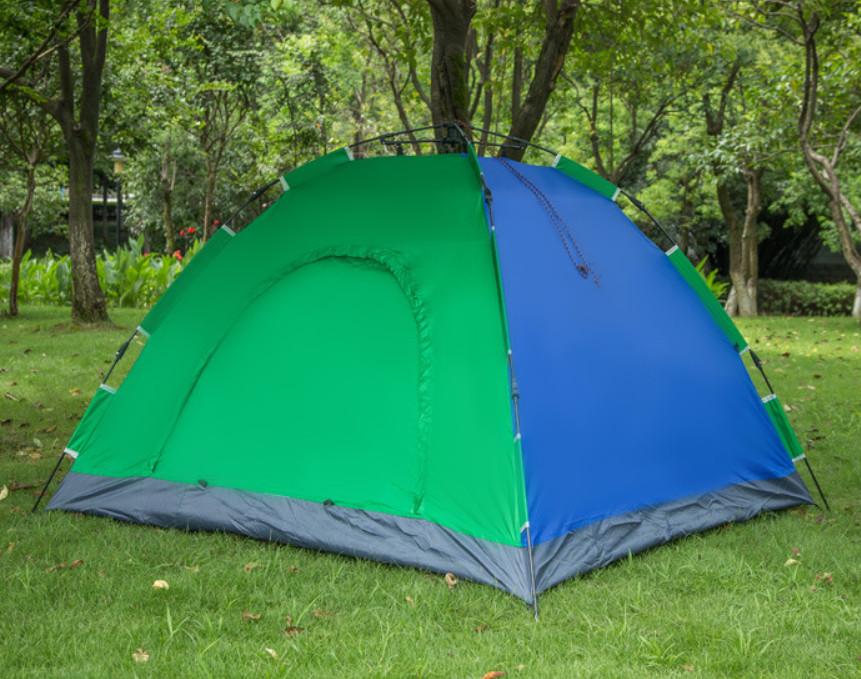 Палатка-автомат 2-х местная с автоматическим каркасом фото №1