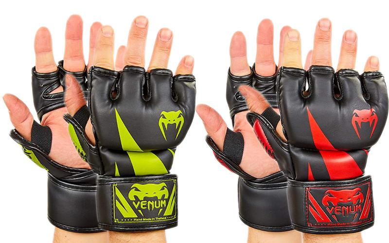 Перчатки для смешанных единоборств venum 8355: размер m-xl, 2 цвета фото №1