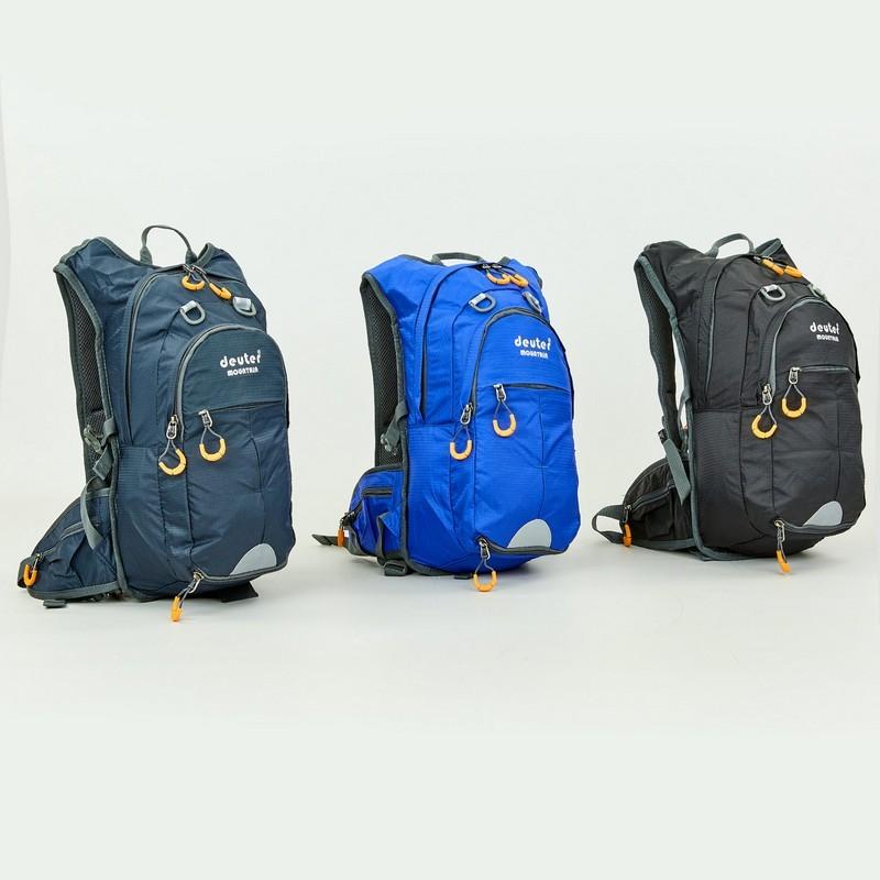 Рюкзак спортивный с жесткой спинкой deuter 803 (ранец спортивный): размер 44х21х12см, 15 литров фото №1