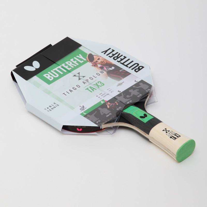Ракетка для настольного тенниса butterfly tiago apolonia tax3 85082 фото №1