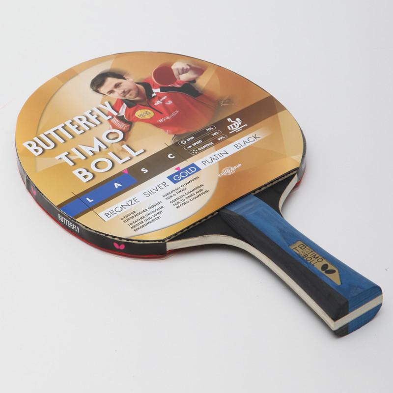 Ракетка для настольного тенниса butterfly timo boll gold 85021 фото №1