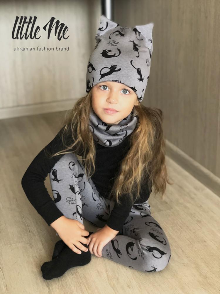Детские теплые лосины фото №1