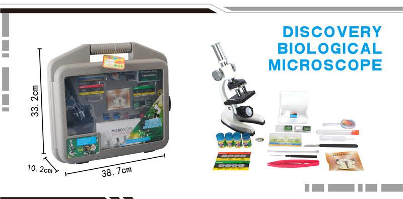 Микроскоп с набором аксессуаров, в кейсе hc205457 фото №1