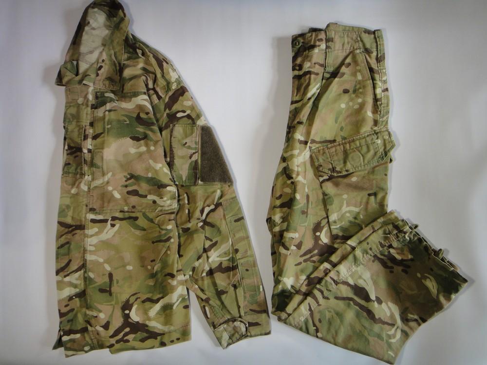 Британский камуфляж китель и брюки combat warm weather mtp фото №1