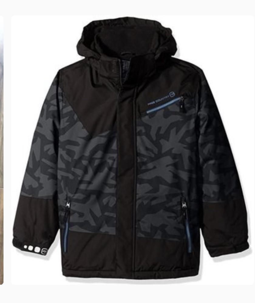 Зимняя теплая куртка free country 4 года фото №1