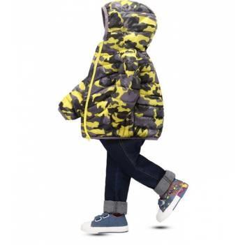 Куртка деми камуфляж детская фото №1
