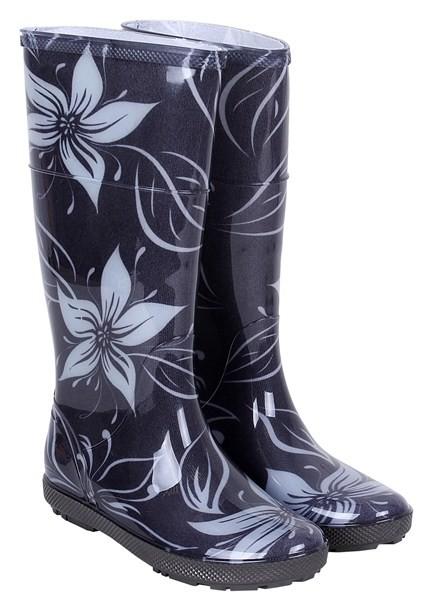 Резиновые сапоги чоботи чобітки демар женские для девочек   demar hawai lady цветы. размер 36-38 фото №1