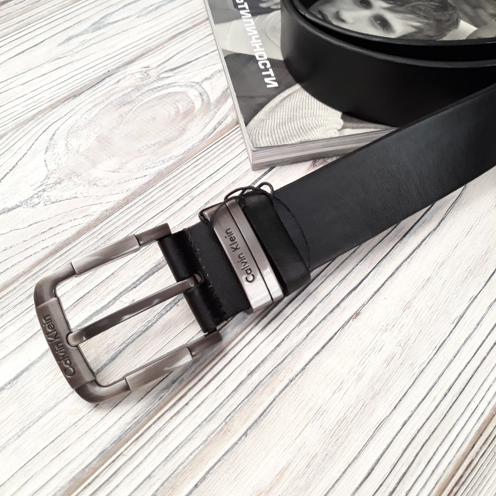 Стильный кожаный ремень бренд пр турция 47 фото №1