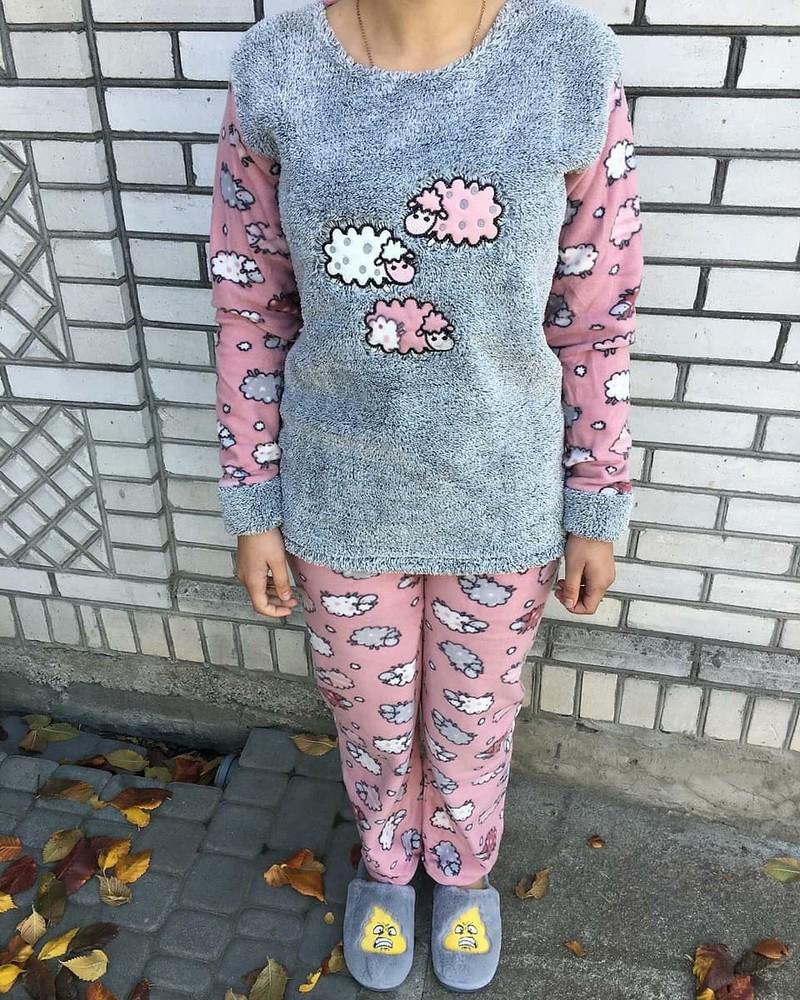 Теплі жіночі піжамки фото №1