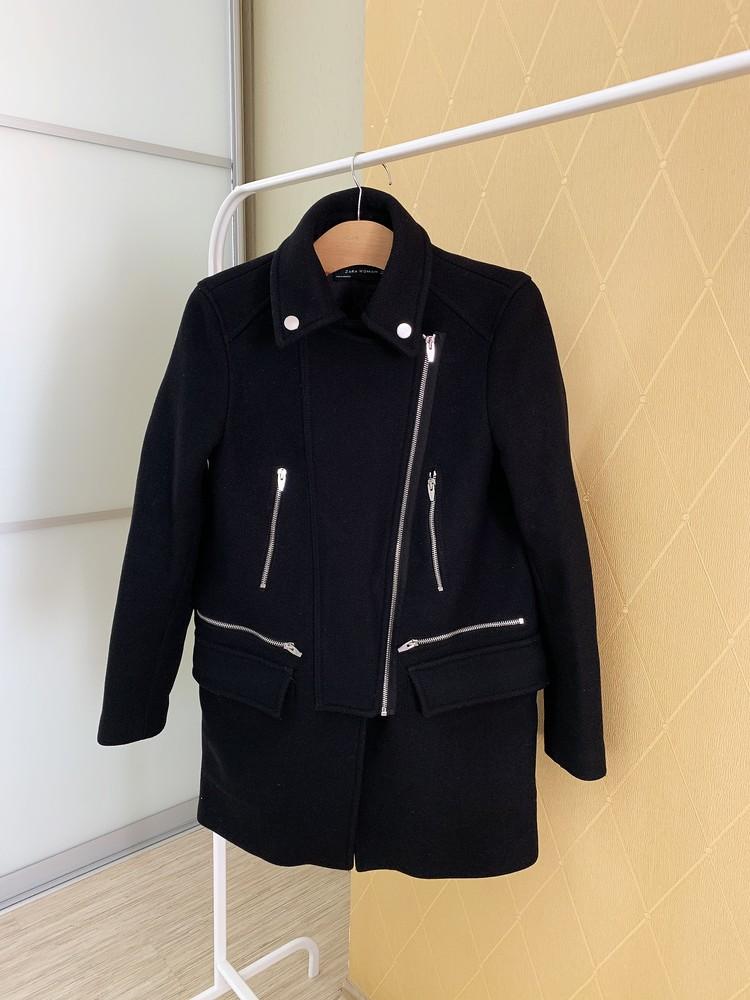 Прямое пальто от zara фото №1
