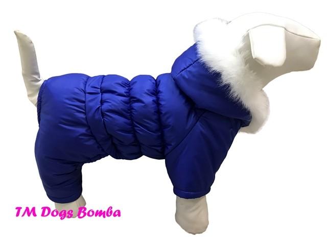 Зимний комбинезон для собак a-52 фото №1