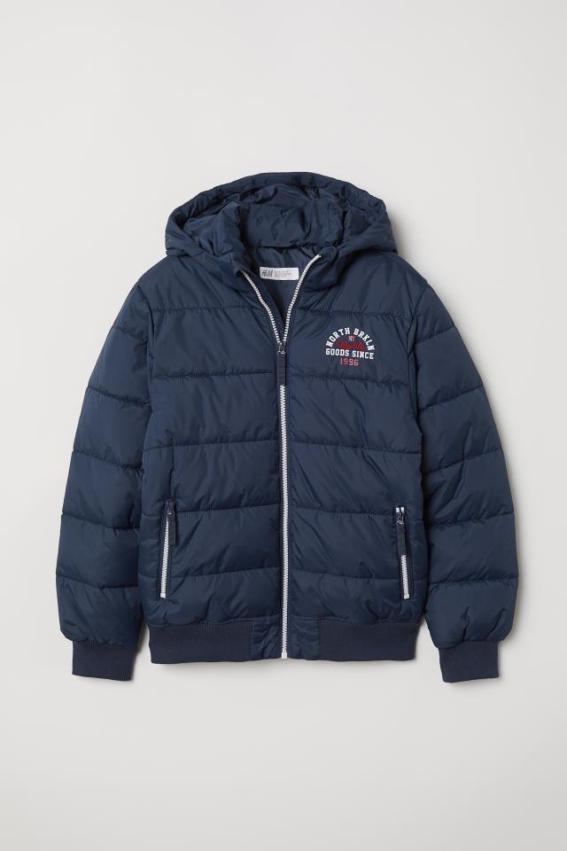 Зимняя куртка h&m на рост 134-164 фото №1