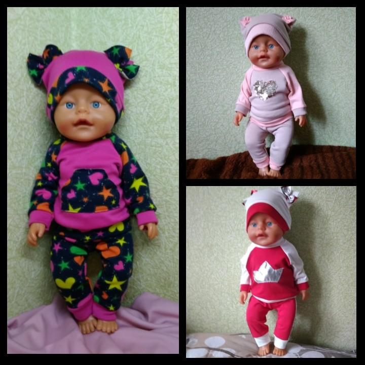 Одежда для кукол беби борн фото №1