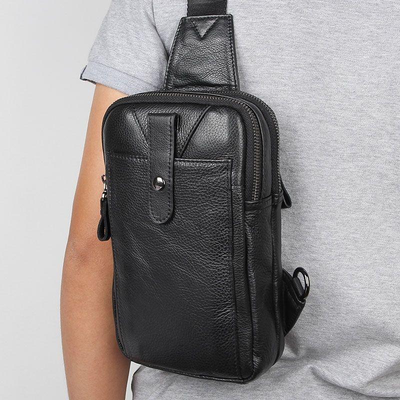 Рюкзак сумка через плече стиляга new 5 натуральная кожа фото №1