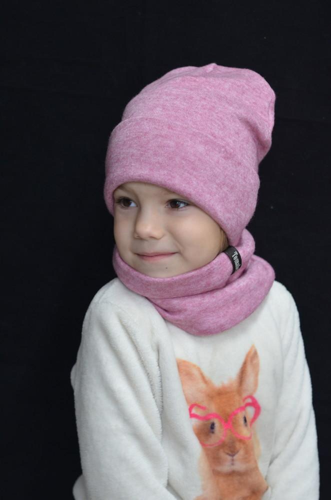 Теплые наборчики (шапочка + снуд) фото №1