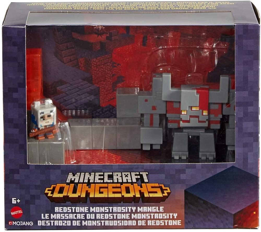 Набор фигурок майнкрафт мини бой mattel minecraft dungeons mini battle in a box фото №1