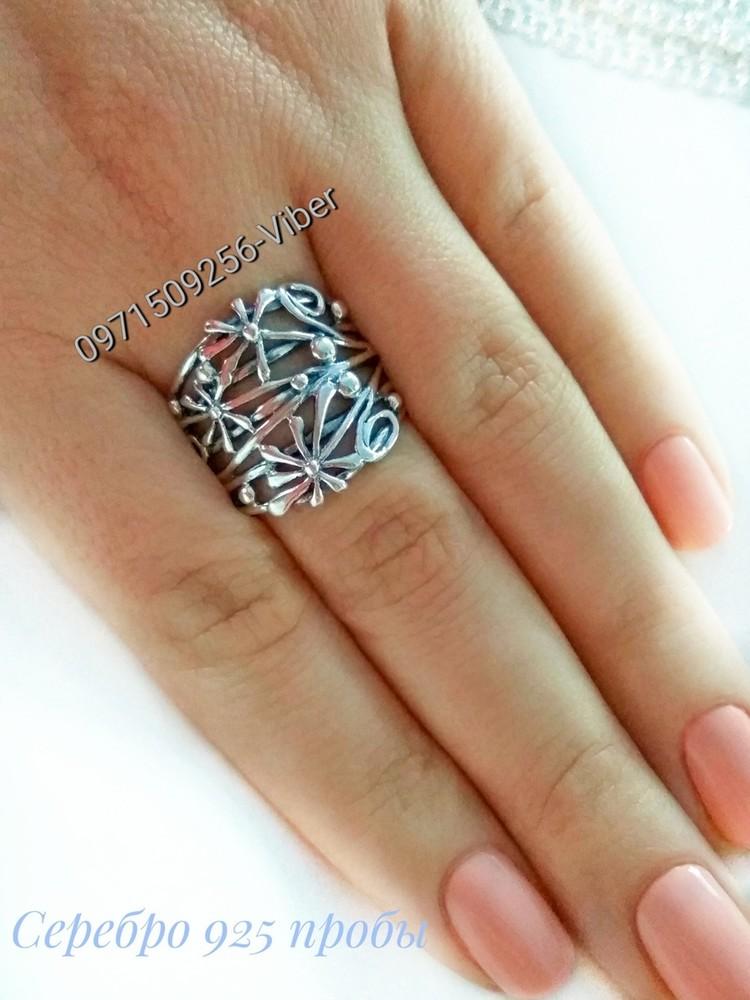 Серебряное кольцо р.19, колечко, серебро 925 пробы фото №1