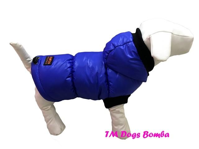 Жилетка зимняя для собак електрик g-27 фото №1