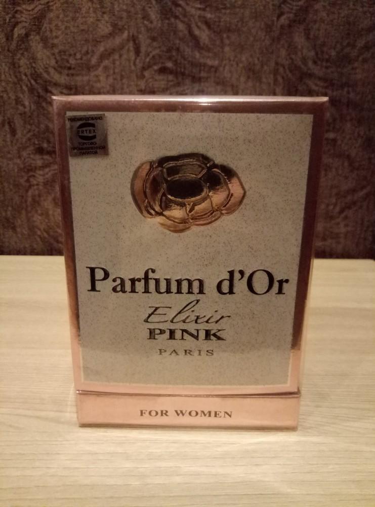 Парфюмированная вода parfum d'or elixir pink фото №1