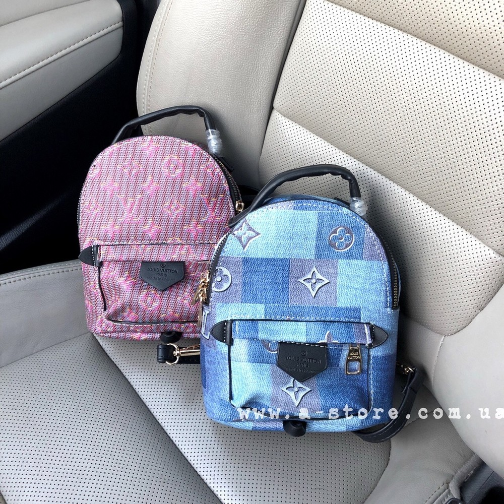Эксклюзив! мини- рюкзак в стиле louis vuitton в новых расцветках фото №1