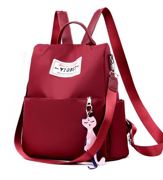 Женский рюкзак - сумка red 1120 фото №1