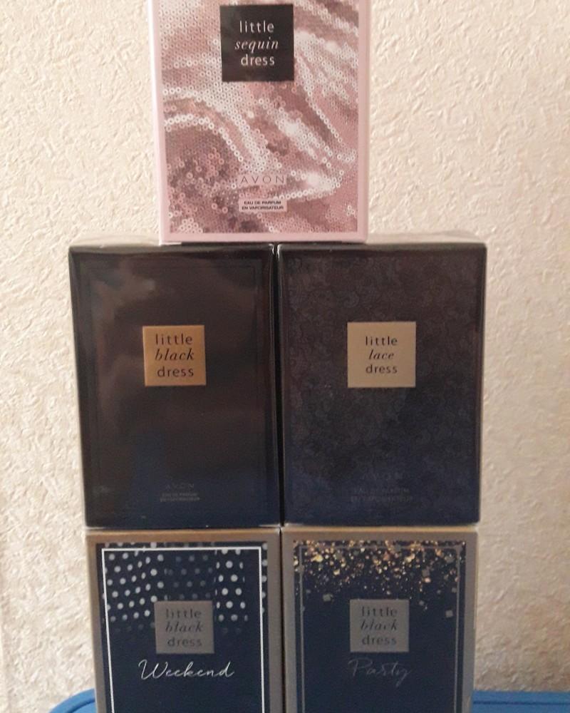 Коллекция ароматов платье от avon фото №1