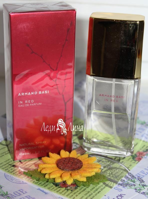 Женская парфюмтрованная вода armand basi фото №1