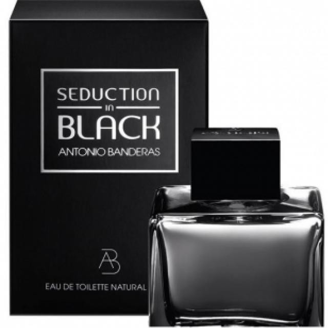 Мужская туалетная вода antonio banderas seduction in black 100 ml фото №1