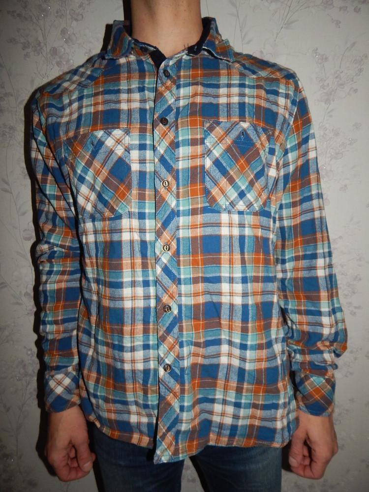 Easy рубашка мужская байковая стильная модная рxl фото №1